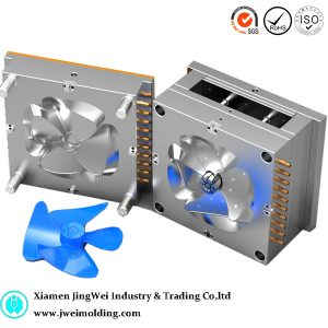 plastic Fan blade plastic injection mould