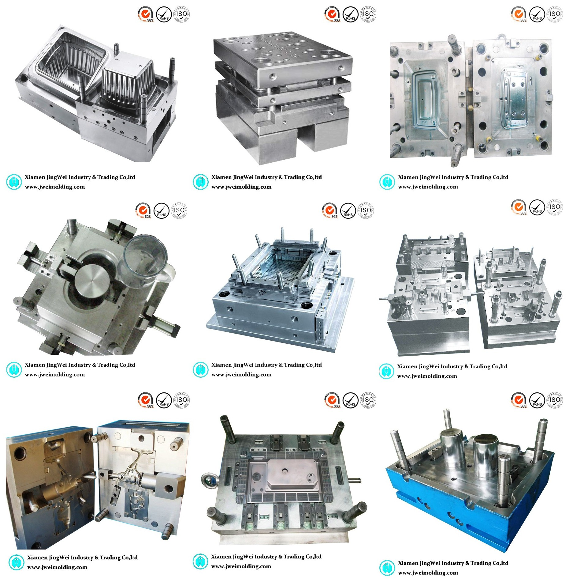 injection molding Injection molding is a method to obtain molded products by injecting plastic materials molten by heat into a mold, and then cooling and solidifying them.