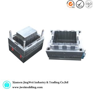 Plastic foldable Transportation Turnover Box injection mould