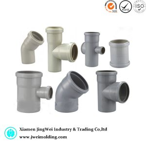 Plastic Injection Parts for Pipe Fitting with ABS AS PPS PP