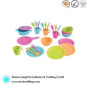 custom molding plastic piece kitchen play set