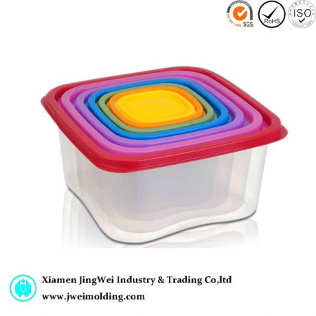 Rainbow Food Storage Containers